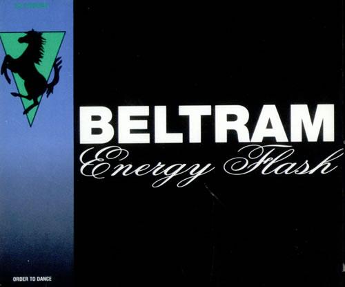 """Joey Beltram Energy Flash CD single (CD5 / 5"""") UK JBLC5EN513704"""