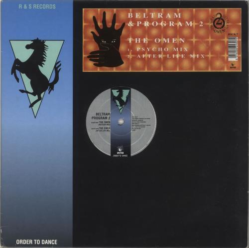 """Joey Beltram The Omen 12"""" vinyl single (12 inch record / Maxi-single) UK JBL12TH705565"""
