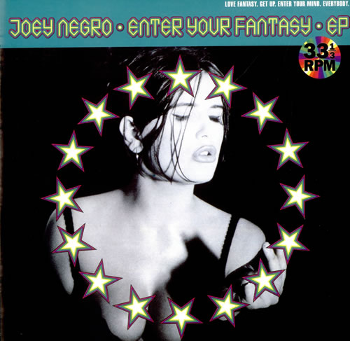 "Joey Negro Enter Your Fantasy EP 12"" vinyl single (12 inch record / Maxi-single) UK JOG12EN195899"