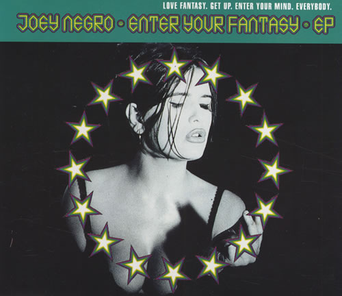"""Joey Negro Enter Your Fantasy EP CD single (CD5 / 5"""") Austrian JOGC5EN433625"""