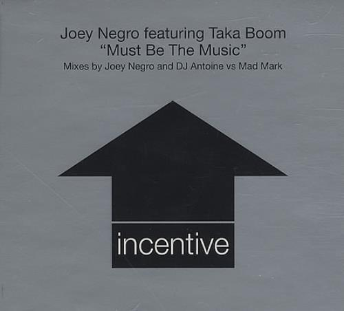 "Joey Negro Must Be The Music CD single (CD5 / 5"") UK JOGC5MU388341"