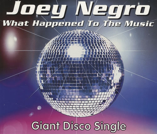 "Joey Negro What Happened To The Music CD single (CD5 / 5"") UK JOGC5WH433623"