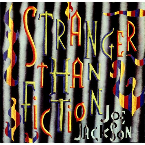 "Joe Jackson Stranger Than Fiction 12"" vinyl single (12 inch record / Maxi-single) UK JOJ12ST160404"