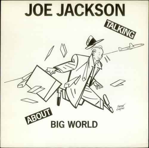 Joe Jackson Talking About Big World - Interview LP vinyl LP album (LP record) German JOJLPTA541325