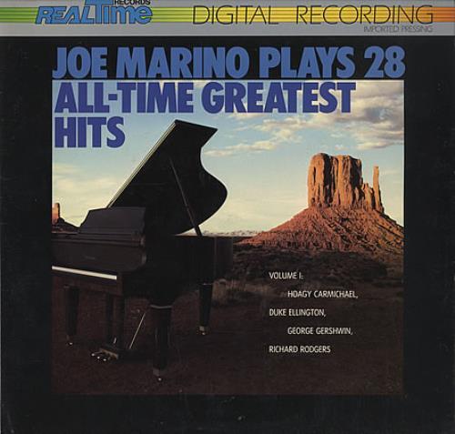 Joe Marino Plays 28 All-Time Greatest Hits vinyl LP album (LP record) US J0MLPPL401299