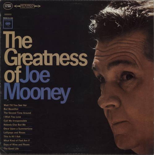 Joe Mooney The Greatness Of Joe Mooney vinyl LP album (LP record) US 2TMLPTH762434
