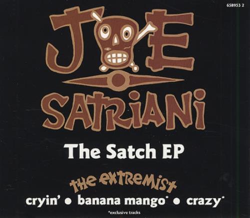 "Joe Satriani The Satch EP CD single (CD5 / 5"") UK JSTC5TH57838"