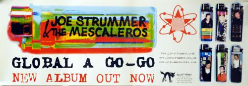 Joe Strummer Global A Go-Go poster UK JUMPOGL513958