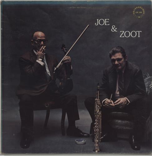 Joe Venuti Joe & Zoot vinyl LP album (LP record) US JB0LPJO675885