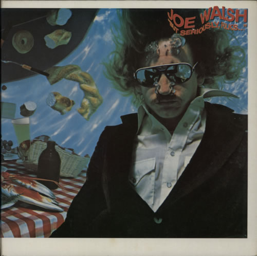 Joe Walsh But Seriously, Folks ... + inner vinyl LP album (LP record) UK JWLLPBU298809