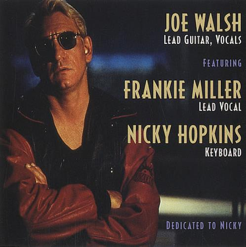 Joe Walsh Guilty Of The Crime US Promo CD single (CD5 / 5