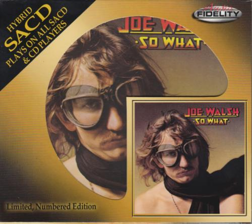 Joe Walsh So What Austrian super audio CD SACD (649529)