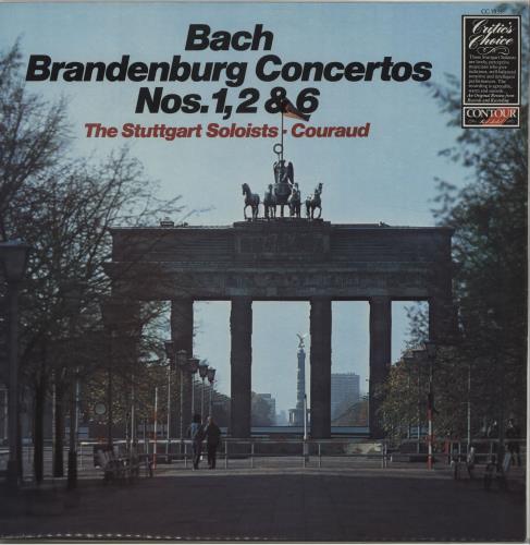 Johann Sebastian Bach Brandenburg Concertos Nos. 1, 2 & 6 vinyl LP album (LP record) UK JHHLPBR676646