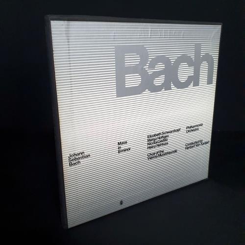 Johann Sebastian Bach Mass In B Minor Vinyl Box Set UK JHHVXMA758809