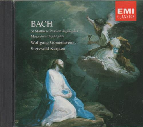 Johann Sebastian Bach St. Matthew Passion / Wachet Auf, Ruft Uns Die Stimme / Magnificat CD album (CDLP) UK JHHCDST661422