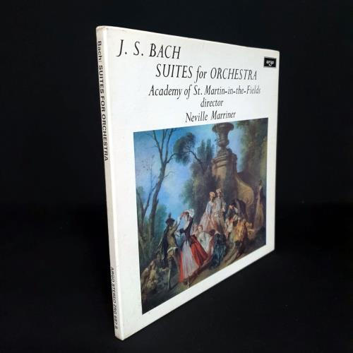 Johann Sebastian Bach Suites For Orchestra - 1st Vinyl Box Set UK JHHVXSU759918
