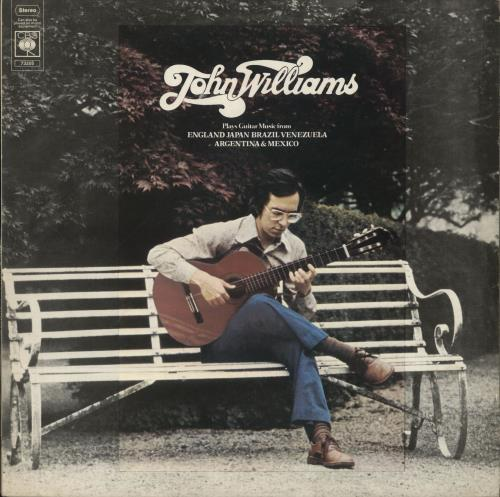 John Williams (Guitarist) Plays Guitar Music From England Japan Brazil Venezuela Argentina & Mexico vinyl LP album (LP record) UK WLALPPL701432
