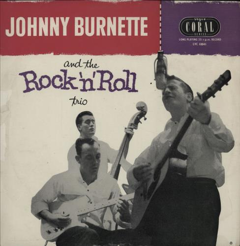 "Johnny Burnette Johnny Burnette And The Rock 'N Roll Trio 10"" vinyl single (10"" record) UK 8JB10JO751077"