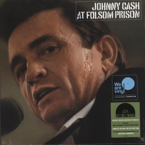 Johnny Cash At Folsom Prison - RSD - Sealed Vinyl Box Set UK JCSVXAT735615
