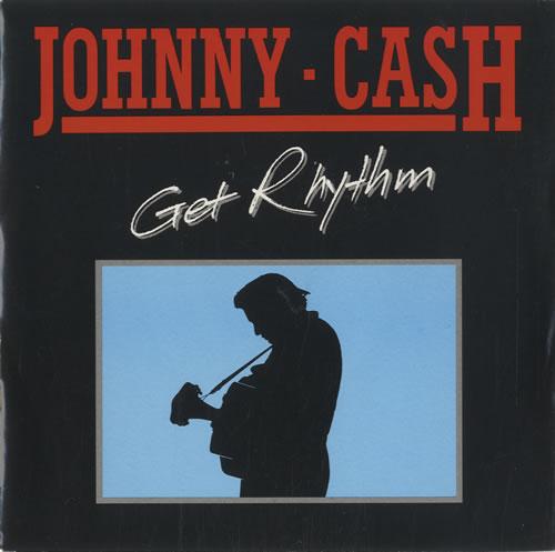 Image result for get rhythm johnny cash single images