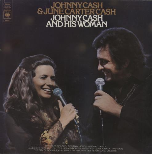 Johnny Cash Johnny Cash And His Woman vinyl LP album (LP record) UK JCSLPJO457415