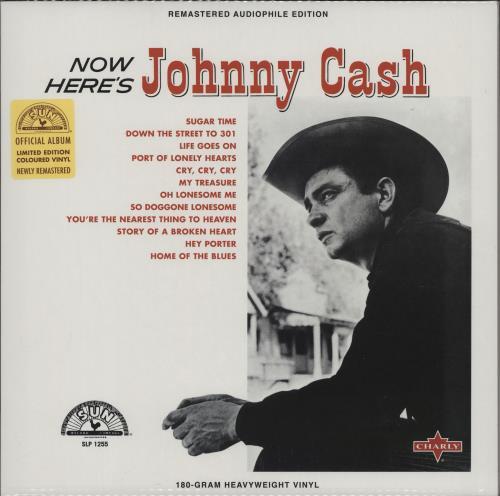 Johnny Cash Now Here's Johnny - 180g vinyl LP album (LP record) UK JCSLPNO762644