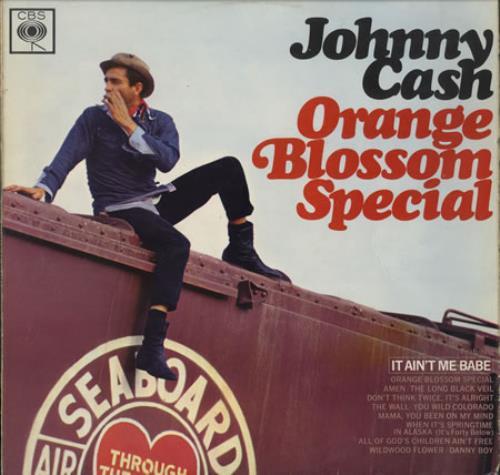 Johnny Cash Orange Blossom Special - 2nd vinyl LP album (LP record) UK JCSLPOR395589