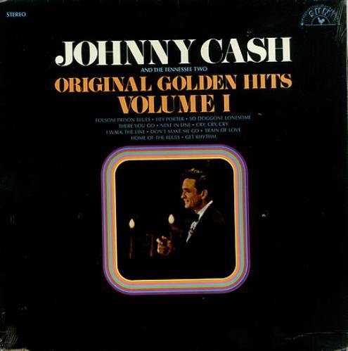 Johnny Cash Original Golden Hits Volume 1 - Sealed vinyl LP album (LP record) US JCSLPOR436517