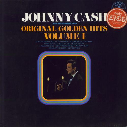 Johnny Cash Original Golden Hits Volume I vinyl LP album (LP record) UK JCSLPOR302785