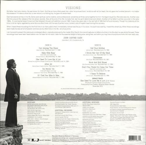 Johnny Cash Out Among The Stars - 180gm vinyl LP album (LP record) UK JCSLPOU725803