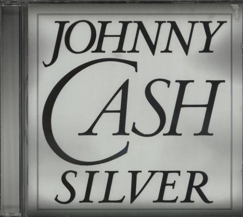 Johnny Cash Silver CD album (CDLP) Austrian JCSCDSI657547