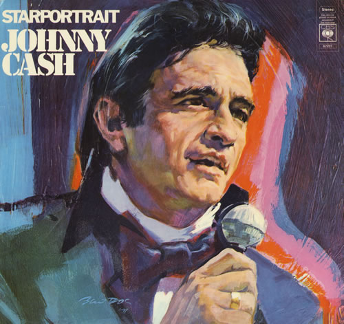 Johnny Cash Starportrait Uk 2 Lp Vinyl Record Set Double