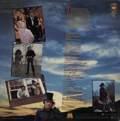 Johnny Cash The Adventures Of Johnny Cash vinyl LP album (LP record) UK JCSLPTH759453