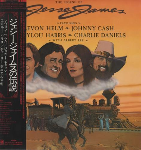 Johnny Cash The Legend Of Jesse James vinyl LP album (LP record) Japanese JCSLPTH376298