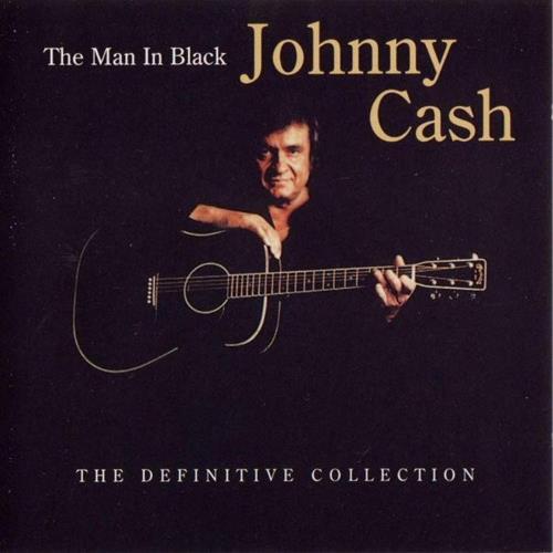Johnny Cash The Man In Black - The Definitive Collection CD album (CDLP) UK JCSCDTH672289