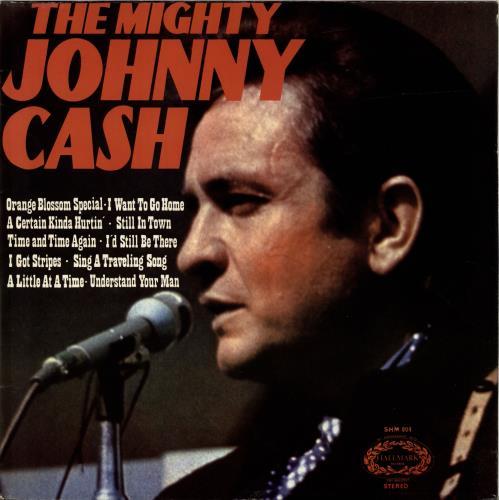 Johnny Cash The Mighty Johnny Cash vinyl LP album (LP record) UK JCSLPTH689477