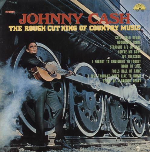 Johnny Cash The Rough Cut King Of Country Music vinyl LP album (LP record) US JCSLPTH373397