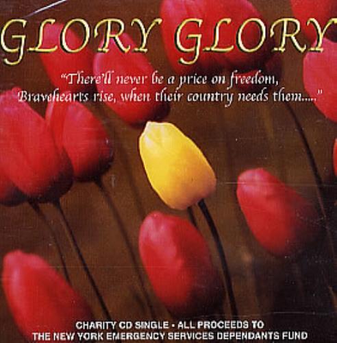 "Johnny Earle & The Jordanaires Glory Glory CD single (CD5 / 5"") UK JJDC5GL223966"