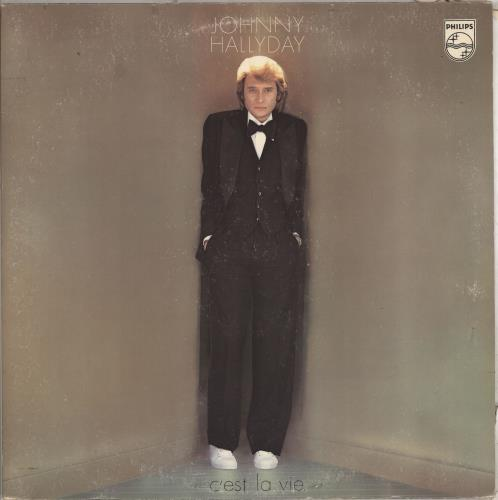 Johnny Hallyday C'est La Vie vinyl LP album (LP record) French JHDLPCE712259