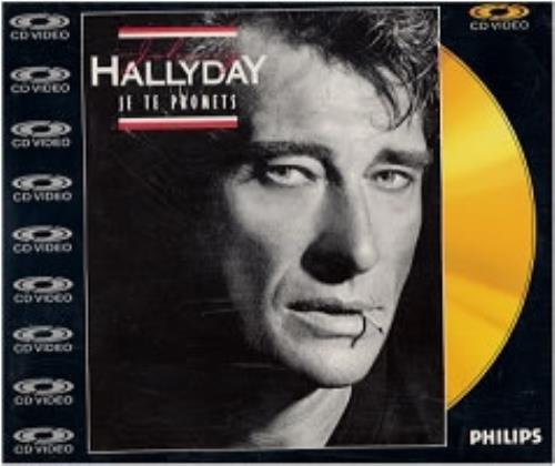 """Johnny Hallyday Je Te Promets - Cdv CD single (CD5 / 5"""") UK JHDC5JE93564"""