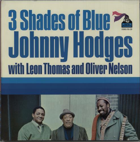 Johnny Hodges 3 Shades Of Blues - 1st vinyl LP album (LP record) US JATLPSH669817