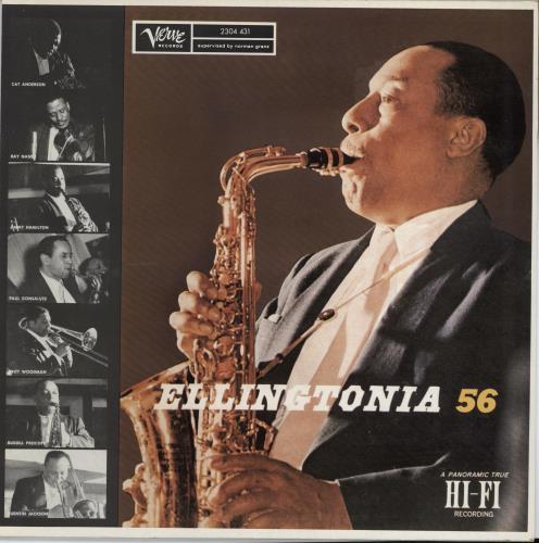 Johnny Hodges Ellingtonia '56 vinyl LP album (LP record) French JATLPEL492640