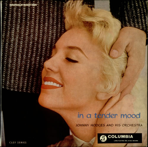 "Johnny Hodges In A Tender Mood 10"" vinyl single (10"" record) UK JAT10IN541266"