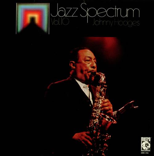 Johnny Hodges Jazz Spectrum Vol. 10 vinyl LP album (LP record) French JATLPJA541368