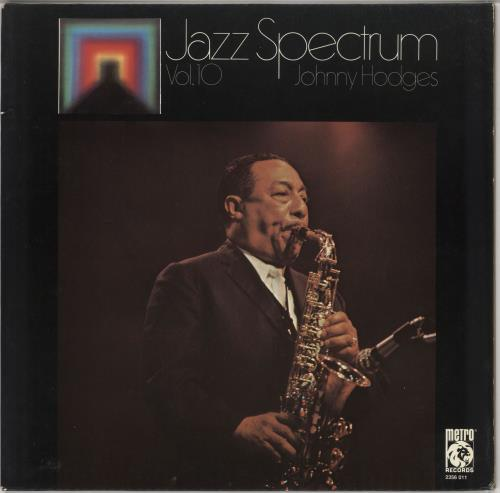 Johnny Hodges Jazz Spectrum Vol. 10 vinyl LP album (LP record) German JATLPJA724240