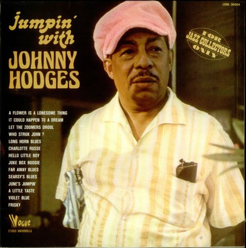 Johnny Hodges Jumpin' With Johnny Hodges vinyl LP album (LP record) French JATLPJU541372