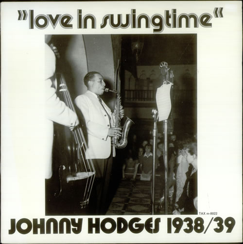 Johnny Hodges Love In Swingtime vinyl LP album (LP record) Swedish JATLPLO541269