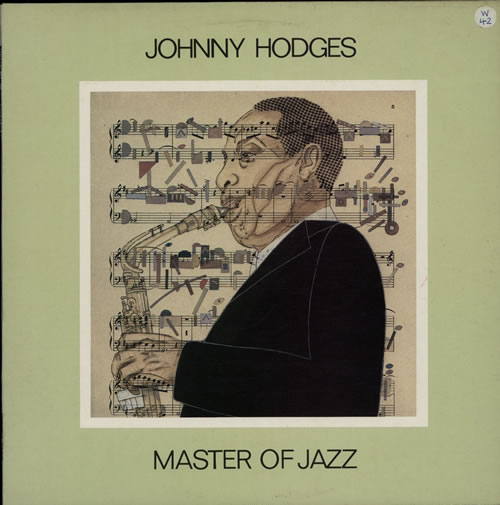 Johnny Hodges Masters Of Jazz Vol. 9 vinyl LP album (LP record) Swedish JATLPMA566267