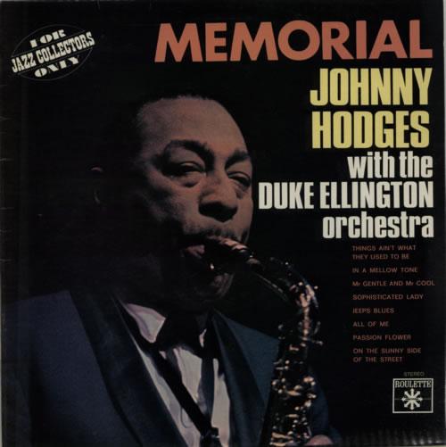Johnny Hodges Memorial vinyl LP album (LP record) French JATLPME614449
