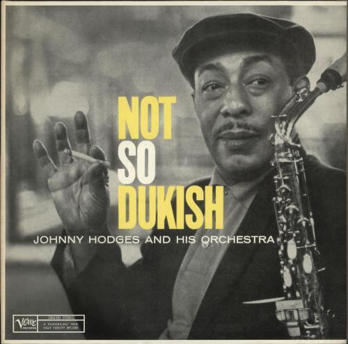 Johnny Hodges Not So Dukish vinyl LP album (LP record) German JATLPNO462133